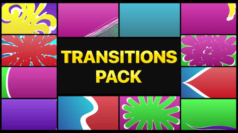 Colorful Smooth Transitions Apple Motion Template