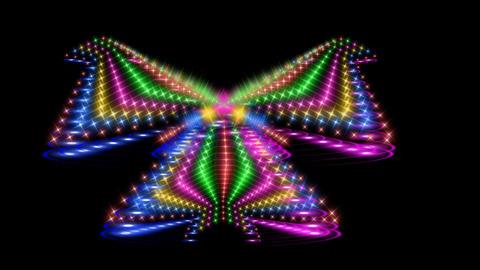 cgi FRACTAL LIGHT DESIGN Animation