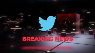 Breaking News Neon Intro After Effects Template