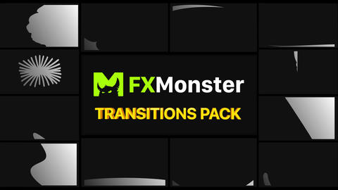 Colorful Transitions Motion Graphics Pack Animation