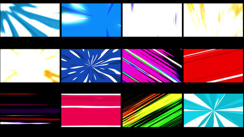 Speed Lines Motion Graphics Pack Animation
