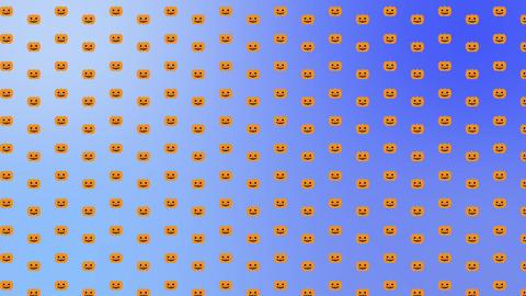 かぼちゃ青ループ CG動画