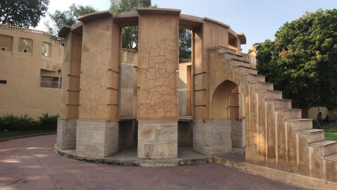 Jaipur, India - historic structures under the scorching sun part 3 Live Action