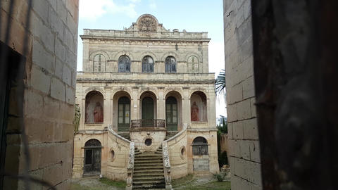 Abandoned Baroque villa in a Rabat, Malta. Apocalyptic scenery Live Action