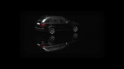 A car is rotating Stock Video Footage