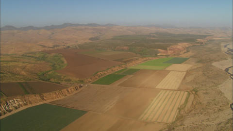 Helicopter aerial of the Santa Maria Valley, California Stock Video Footage