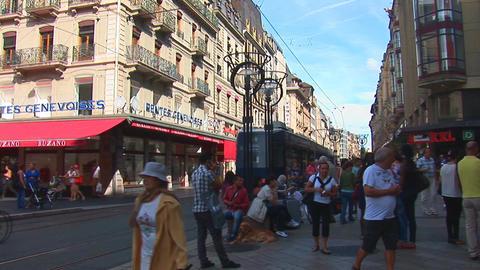 Geneve tram Footage