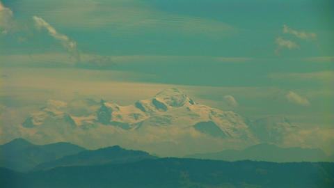 Mont Blanc a Stock Video Footage