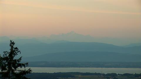 Mont Blanc b Stock Video Footage