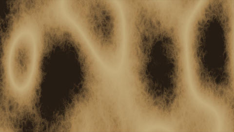 Looping animations of a tan and brown amorphous or... Stock Video Footage