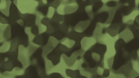Looping animations of a muted green and gray liquid camouflage like pattern Animation
