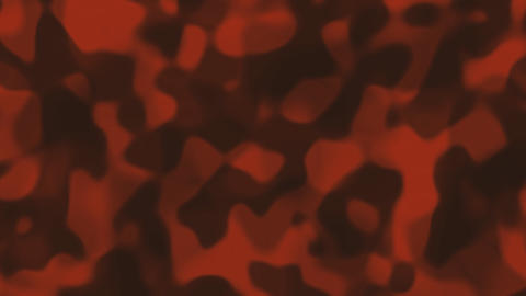 Looping animations of a orange and gray liquid camouflage like pattern Animation