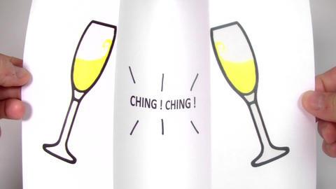 Champagne Glasses - Celebration Live Action