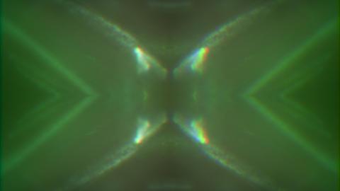 Vibrant trendy geometrical nostalgic iridescent background Live Action