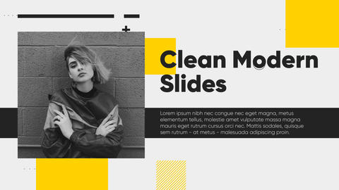 Clean Modern Slides After Effects Template