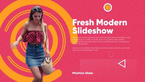 Fresh Modern Slideshow After Effects Template
