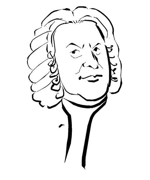 Johann Sebastian Bach Animation