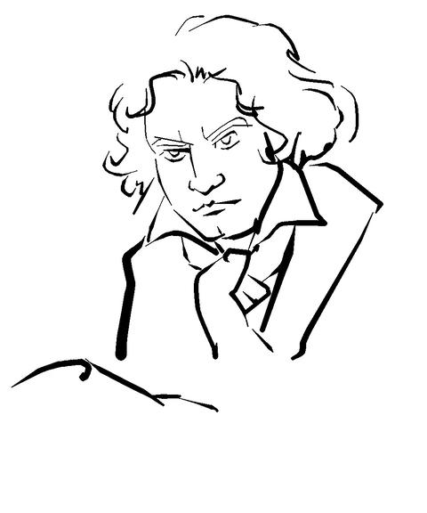 Ludwig van Beethoven Animation