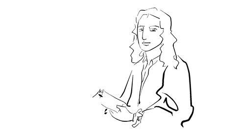 Edmond Halley Animation