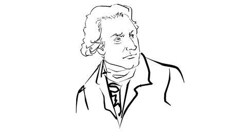 Sir Frederick William Herschel Animation