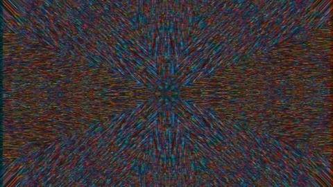 Kaleidoscope geometrical futuristic elegant iridescent background Live Action