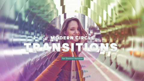Davinci Resolve Macros - Modern Circle Transitions