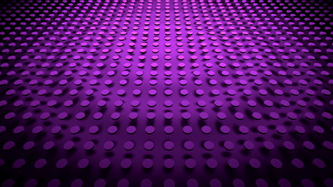 Render 3d lilac texture waves in motion Videos animados