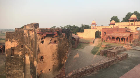 Fatehpur Sikri, India - ancient architecture from the past part 12 Live Action
