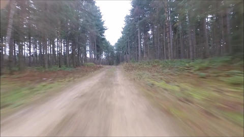 High Speed Track Flight Live Action