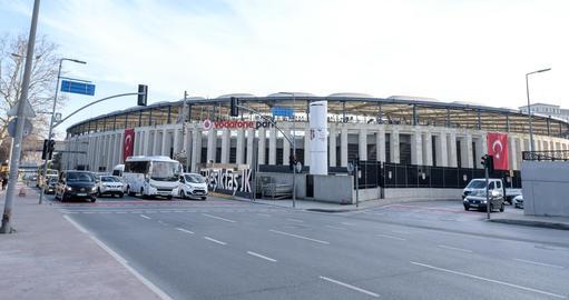 BJK Vodafone Park Arena is home ground of Besiktas JK Football Club Photo