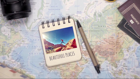 Beautiful Travel Slideshow After Effects Template