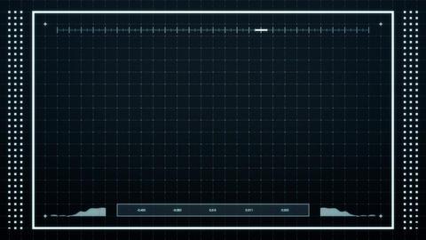 Grid Array HUD CG動画素材