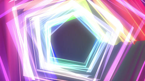 Color Tunnel Animation