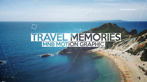 Travel Memories After Effects Template