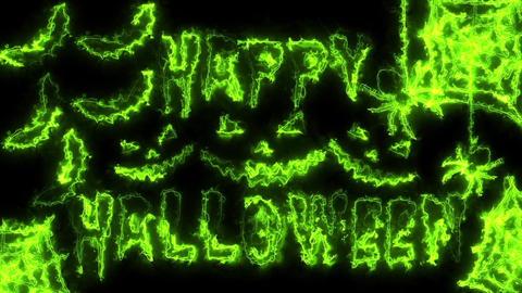 Happy Halloween Loop Animation