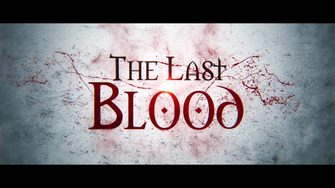 The Last Blood After Effects Template