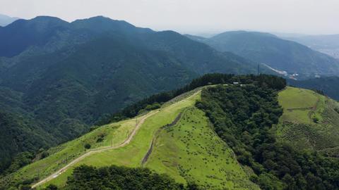 Ohnoyama, tanzawa, aerial view Live Action