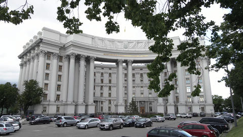 The architecture of Kyiv. Ukraine: Ministry of Foreign Affairs of Ukraine Live Action