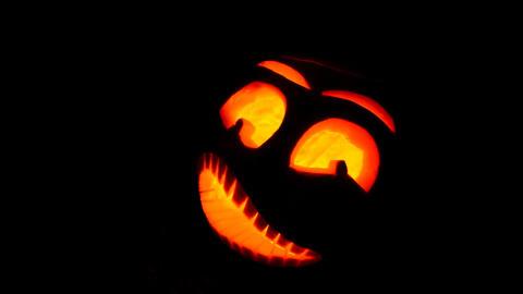 Halloween pumpkin Footage
