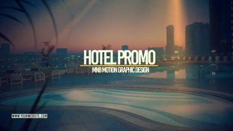 Hotel Promo After Effects Template