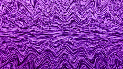 Abstract waves background with hypnotic effect Animation