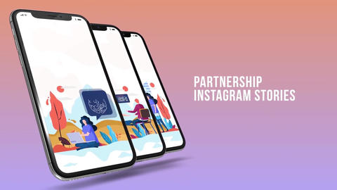Partnership - Instagram-stories After Effects Template