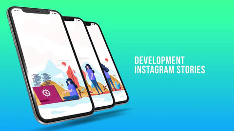 Development - Instagram stories After Effects Template