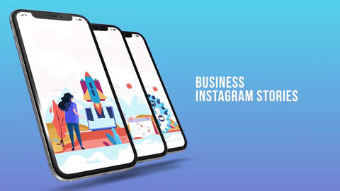 Business - Instagram stories After Effects Template