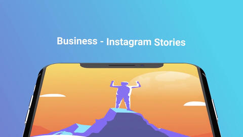 Business Flat - Instagram stories After Effects Template
