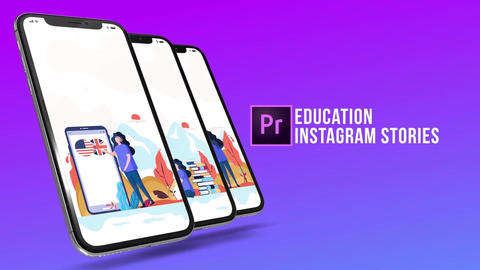 Education - Instagram stories Plantillas de Motion Graphics