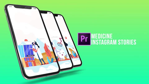 Medicine - Instagram-stories Plantillas de Motion Graphics