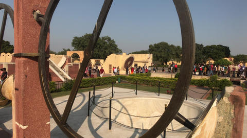 Jaipur, India - interesting historical structure part 13 Live Action