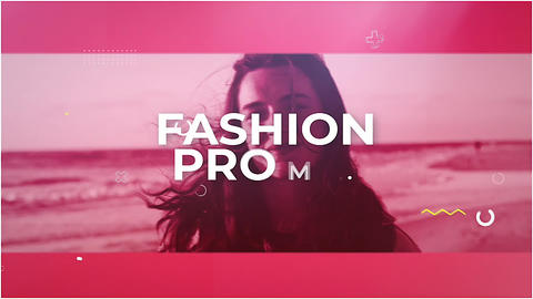 The Fashion Apple Motion Template