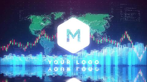 Stock Market Logo Plantillas de Premiere Pro